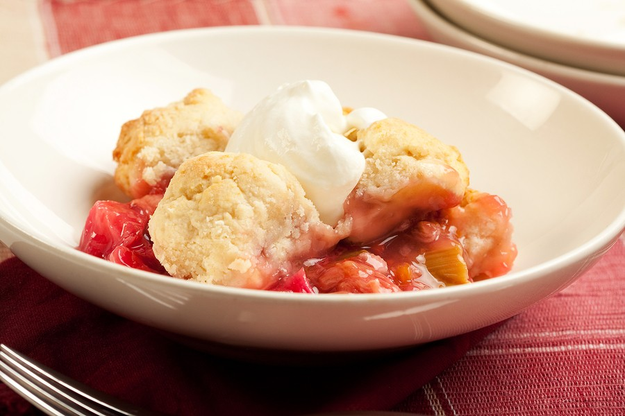 Rules of Rhubarb & Simplified Strawberry-Rhubarb Crisp