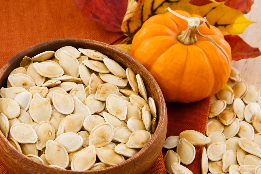Pumpkin Seeds Make You Feel Good! {Roasted Pumpkin Seed Recipe}