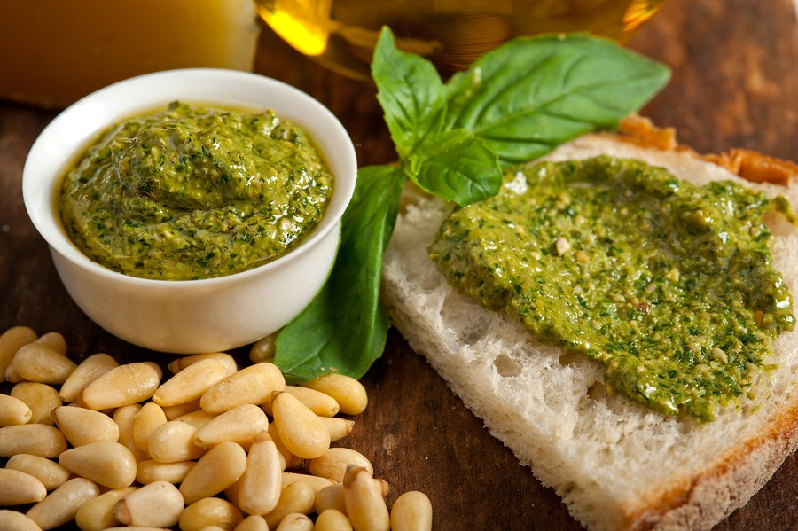 A Basil Appraisal: Fresh Basil Pesto Recipe  {Basil recipes | recipes with basil | sweet basil recipes}