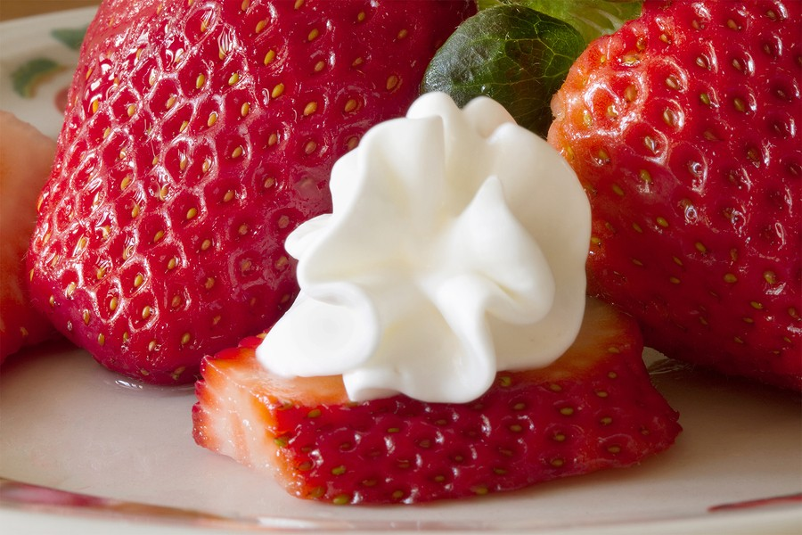 Strawberry Nutrition {Easy Shortcake Recipe}